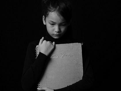 art-black-black-and-white-child