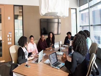 boardroom meeting team