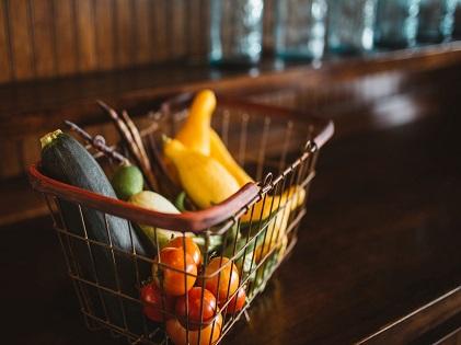 fruits vegetables basket